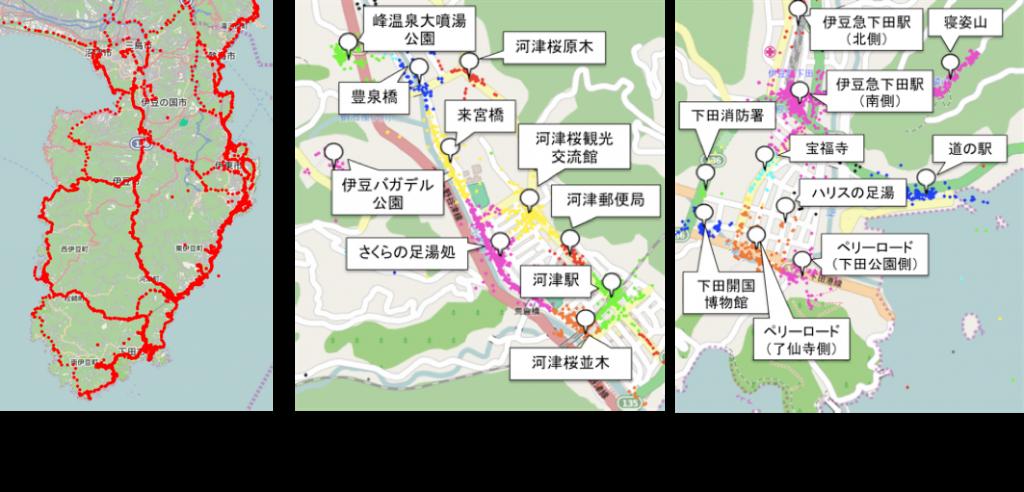 2014年度河津桜まつり調査